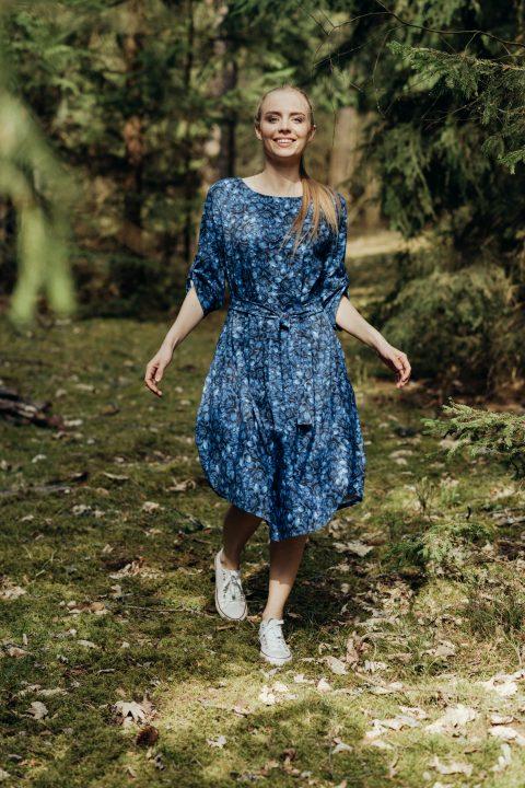 """Oversized suknelė ,,Mėlyna"""""""